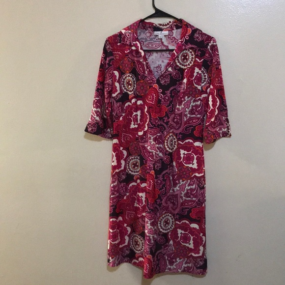 Jude Connally Dresses & Skirts - Jude Connolly Paisley Michelle Style Print Dress